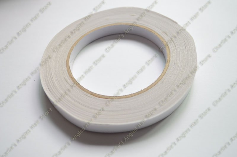 1pc 1.5cm*30m Medical desensitization hair adhesive tape for hair extension and skin weft(China (Mainland))
