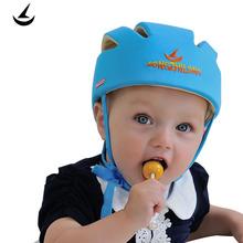 Baby Toddler Safety Helmet Headguard Cap Adjustable Hat No Bumps Kids Walk Learning Helmets