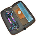 5 5Inch MeiSha Hairdressing Hair Scissors JP440C Barbers Cutting Scissors Thinning Scissors Kit for Salon or