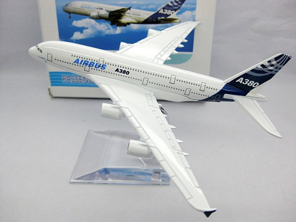 2014 New A380 Airbus airplane models,16cm High Quality metal airlines plane model wholesale, airbus prototype machine(China (Mainland))