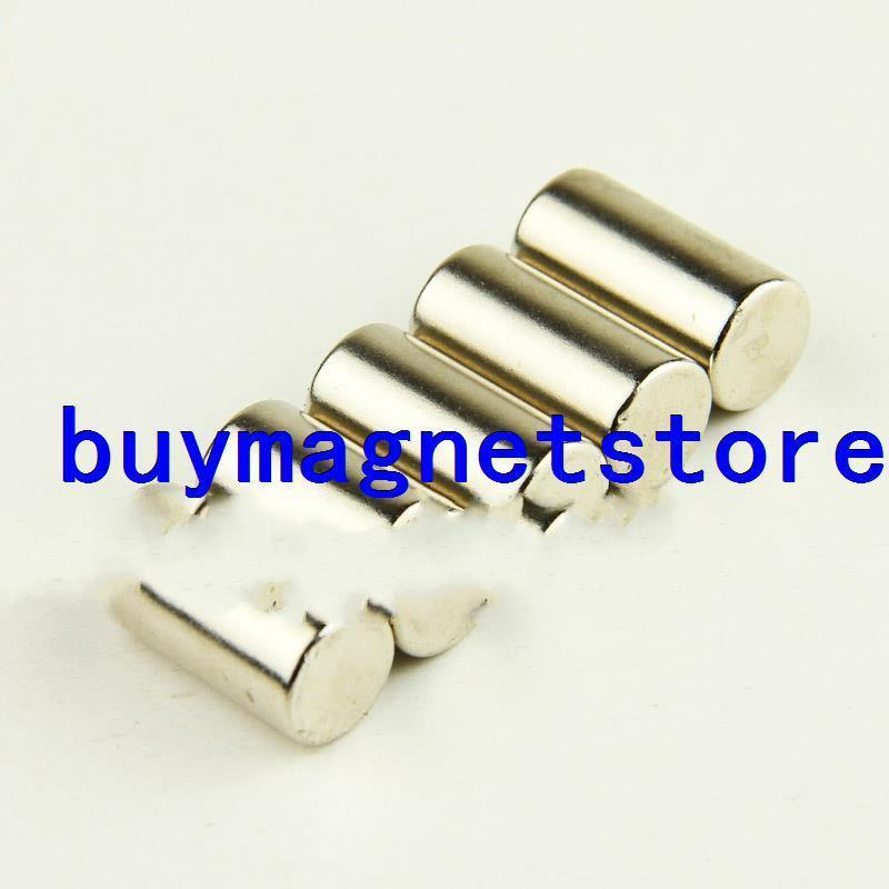 Lots 10pcs Strong Magnet 10mm X 20mm Round Cylinder N35 Rare Earth Neodymium<br><br>Aliexpress