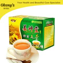 Free shipping NEW 2014 HOT  Green Slimming Coffee  instant / Green Ginger / Honey And Ginger /Health Care Tea