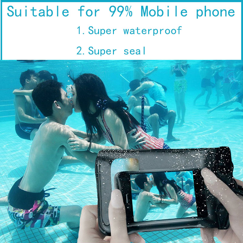 New Clear Waterproof Pouch Dry Case Cover For Nokia Lumia 800 N800 Phone Camera Mobile phone Waterproof Bags For Nokia 800(China (Mainland))