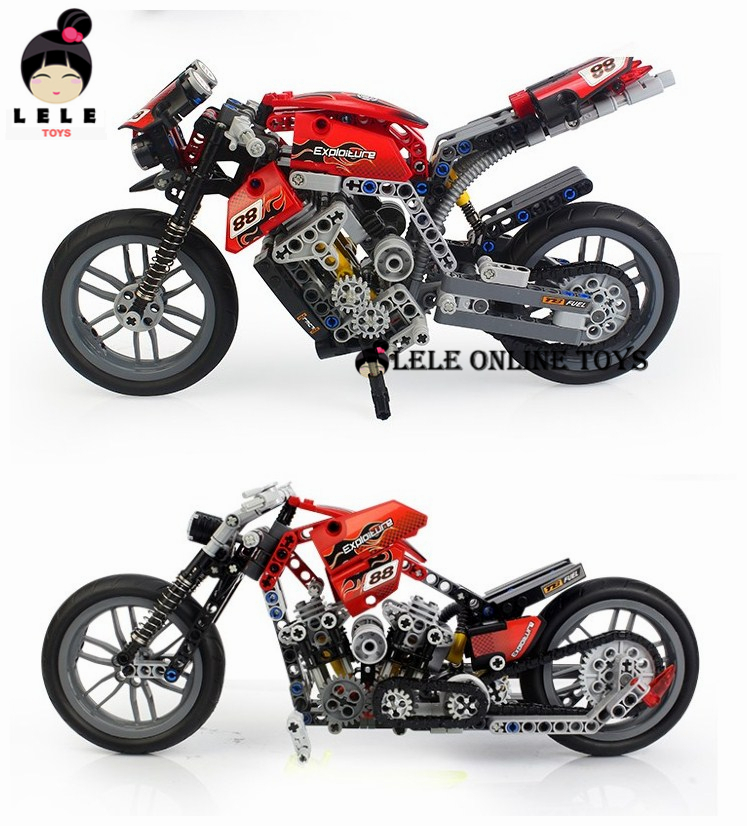 2015new Hot Motorcycle Building Blocks Compatible with 431 Pcs Decool Scale Models Building Toy Learning Education Toys<br><br>Aliexpress