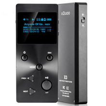 2016 New XDUOO X3 Professional Lossless Music MP3 HIFI Music Player with HD OLED Screen Support APE/FLAC/ALAC/WAV/WMA/OGG/MP3(China (Mainland))