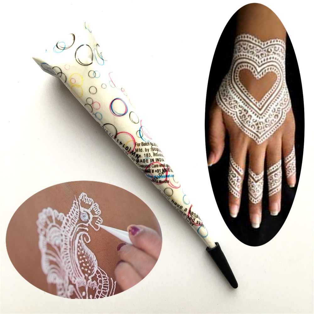 Tattoo Type Mehndi : Acquista all ingrosso online organic tatuaggi da grossisti