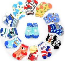 Free shipping  12pair/lot  baby girls boy socks  wholesale unisex  Non slip baby socks infant socks 0-3yearscTWS0001(China (Mainland))