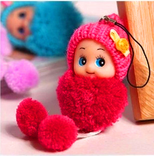 Creative Gift Mini Baby Toy Pendant Christmas Decoration Ornament Supplies Children Kids Gift(China (Mainland))