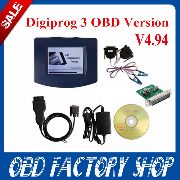 2015 Newest Digiprog 3 main unit V4.94 with ST01,ST04 cable,charger Full Software Odometer Programmer Digiprog III Digiprog 3(China (Mainland))