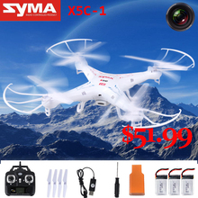 Brand new SYMA X5C remote control toy remote control rc helicopter UAV 2.4G 4CH Built-in camera with 500 mah battery