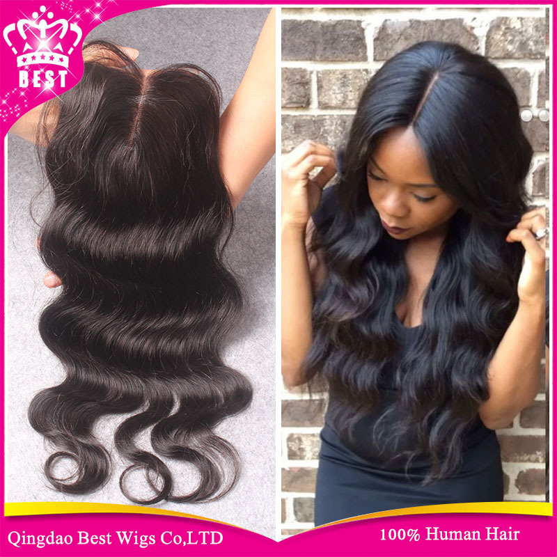 Human Hair Lace Front Closure Piece 90