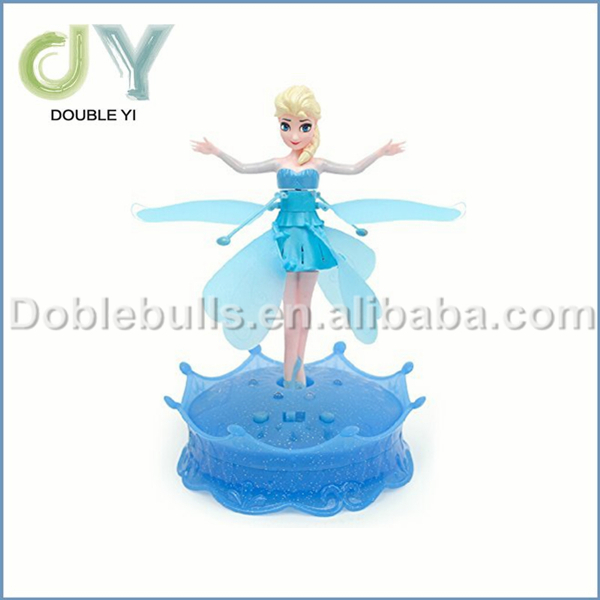 Control RC Flying Toys for Children Fashion Flying Doll Magic flying fairy doll with Light and Music Control Rc Flying Toys(China (Mainland))