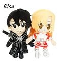 Sword Art Online Plush Toys Kirigaya Kazuto Asuna Doll WJ250