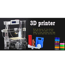 Newest Upgrade Aurora Factory 3D Printer 3 D Machine DIY KIT Acrylic Frame with LCD Screen Optional