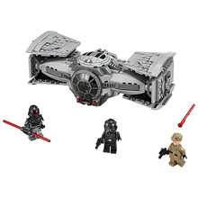 354pcs Star Wars TIE Advanced Prototype Fighter Building Blocks Pilot Minifigure Kids Toys Action Figure Children Gift(China (Mainland))