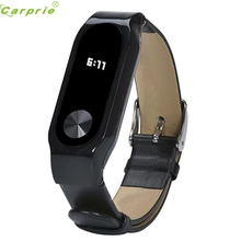 Buy Drop Replacement Luxury Genuine Leather Band Strap Bracelet Xiaomi Mi Band 2 Smartband Smart Watch HOT GIFT JAN3 for $6.42 in AliExpress store