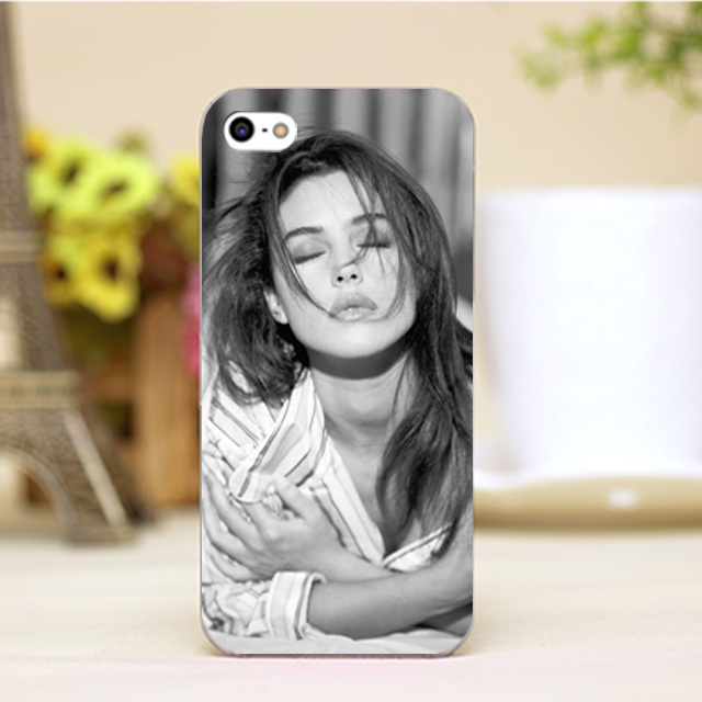 Monica Bellucci Design Customized font b cellphone b font cases For iphone 4 5 5c 5s
