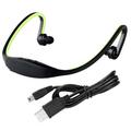 USB 2 0 Mini Sport Headset Music MP3 Player Support 16GB Micro SD TF