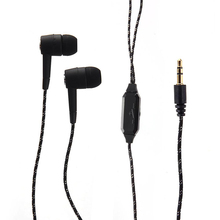 Hot Sale New 3.5mm In-ear Stereo Earphone Volume Control Ear-buds For iPod MP3 MP4