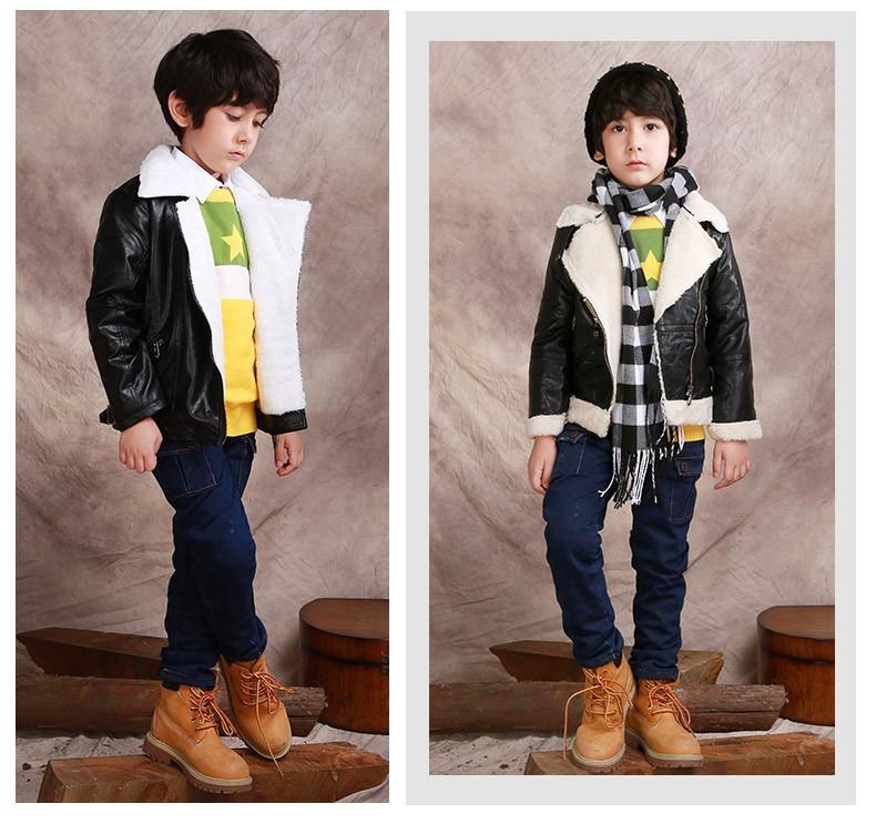 Fashion brand 3-10 age winter children pants,Thick Warm Cashmere Kids Pants Baby Boys Denim Jeans,Two Layers blue boy trousers