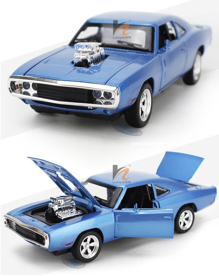 1:32 Dodge Charger alloy Wholesale car modesl four door open mustang GT children's toy car 2016 hot sale car metal models(China (Mainland))