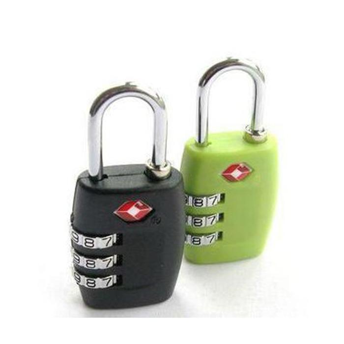 3 TSA Suitcase Combination Lock Digital Password Lock Tourist Outdoor Travel Safe Travel Luggage Padlock Outdoor