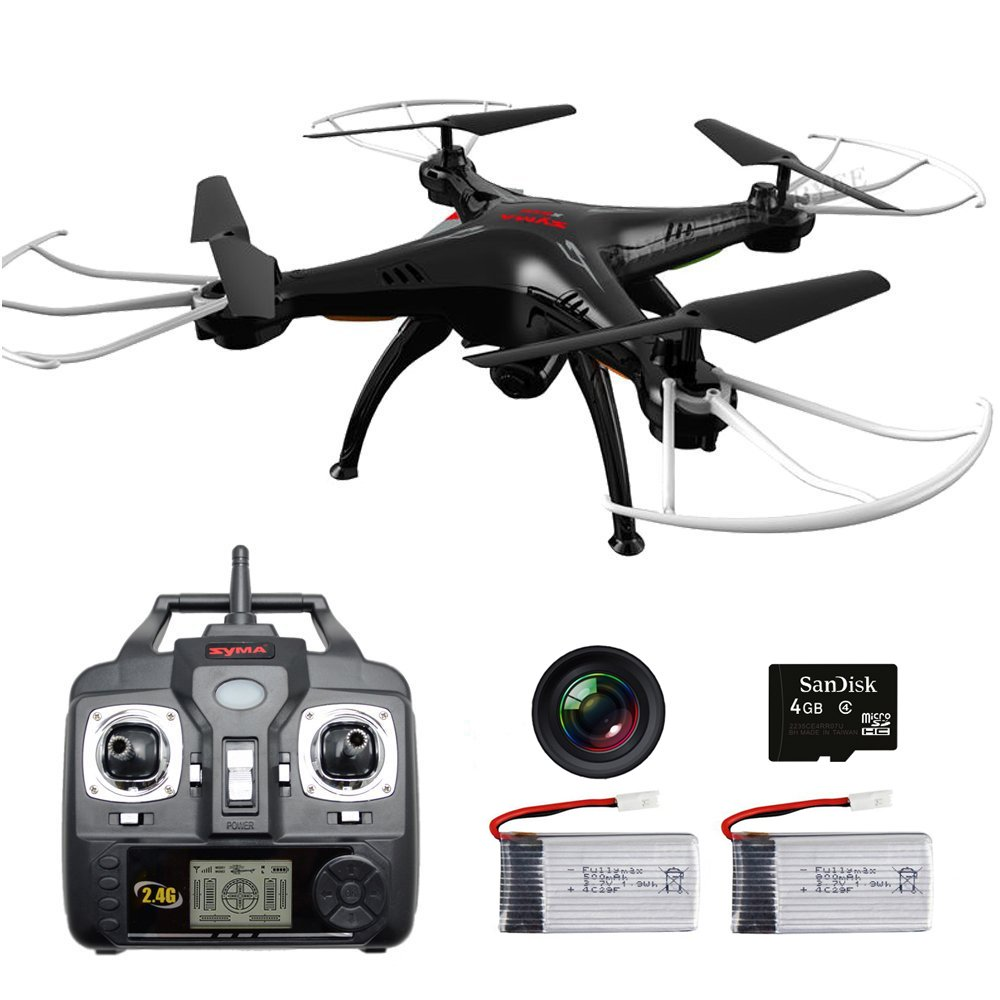 Newest Syma 2 4G 4CH 6 Axis X5SC RC font b Drone b font Quadcopter Helicopter