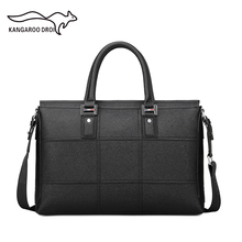 2016 New Men's Messenger Travel Bags Business Men Microfiber Leather Laptop Tote Bags Man Crossbody Briefcases(China (Mainland))