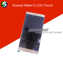 NEW Gold Color For Huawei Mate S LCD Display With Touch Screen Digitizer Full Assembly Replacement Parts