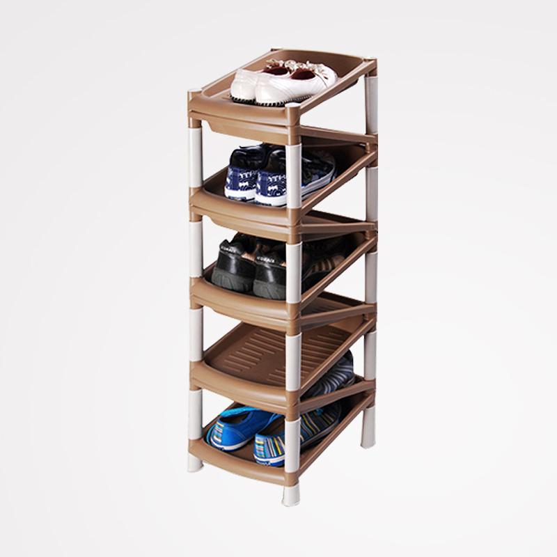 Space Master Shelves plastic dust layer storage shoe rack 9 449<br><br>Aliexpress