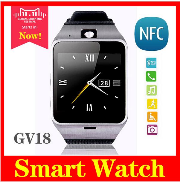 2016 new GV18 Plus Waterproof Aplus Smart watch phone GSM Camera wrist Watch SIM card Smartwatch for Samsung Android Phone(China (Mainland))