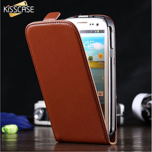 Buy KISSCASE Samsung Galaxy S3 Cases Retro Leather Mobile Phone Case Samsung Galaxy S3 SIII I9300 Simple Vertical Flip Cover for $3.92 in AliExpress store