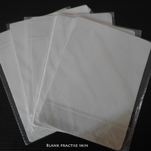 Tattoo Practice Skin Blank Plain 20 * 15cm Practice Skin Sheet For Permanent Makeup Needles Machine Learner Use(China (Mainland))