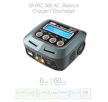 SKYRC S60 Intelligent AC Balance Charger/Discharger with Multi Charging Modes for LiPo LiHV Lilon LiFe NiCd NiMh PB Battery