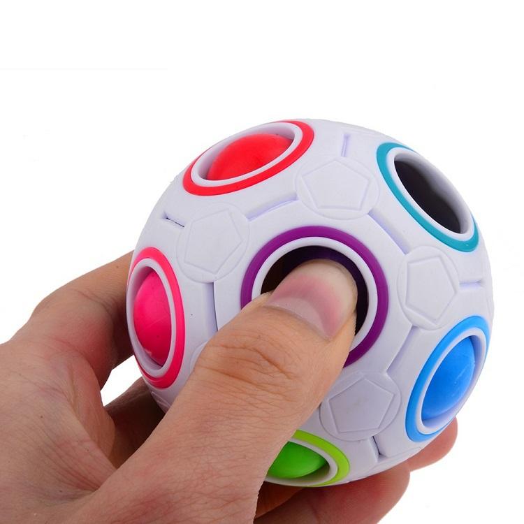Strange-shape magic cube Educational Toy,Classic ball style Magic Cube ABS Material Magic Cube CMF040(China (Mainland))