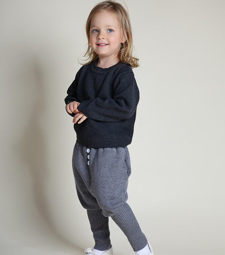 Скидки на 1-5 лет дети кролик свитер пиджак брюки 2016 осень и зима детские брюки мальчик девочка хлопка вязать одежду набор