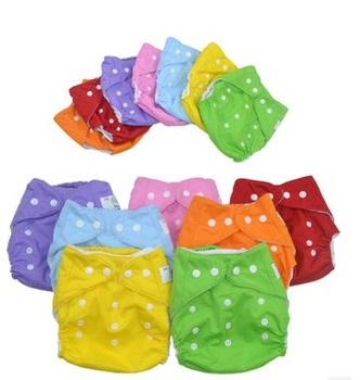 1 шт. многоразовые детские младенческой подгузник ткань подгузники мягкие футляр ...
