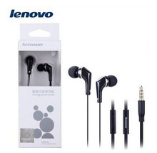 Lenovo Original LH102 headphones for Lenovo with microphone audio connector 3.5mm in ear headphone