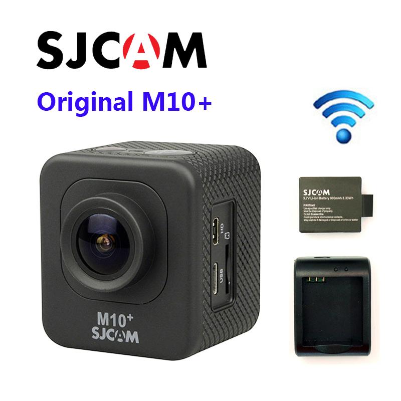 Бесплатная Доставка!! Оригинальный стиль М10 плюс беспроводной 2К НОВАТЭК 96660 дайвинг 30m Водонепроницаемый 1080p и 60 кадров в секунду гироскопа экшн-камера разъем набор