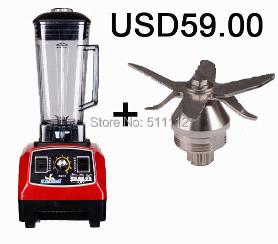 Гаджет  Promotion!!! one more cutting unit  2L/1500W commercial blender,food processor,juicer,high heavy duty None Бытовая техника