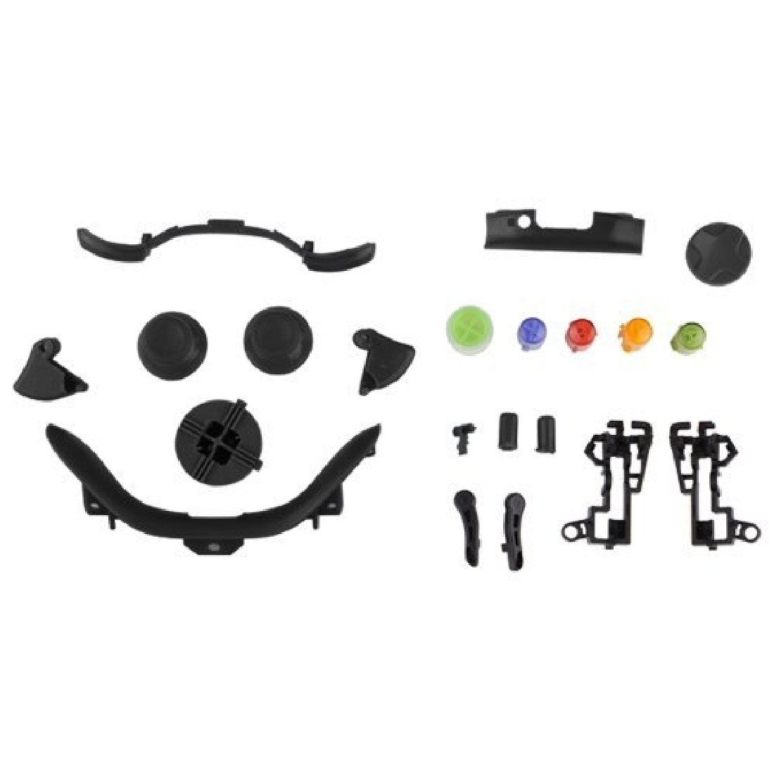 New Replaceable Full Sets Of Buttons Buttons Accessories Kits For Xbox360 Game Console Controller(China (Mainland))
