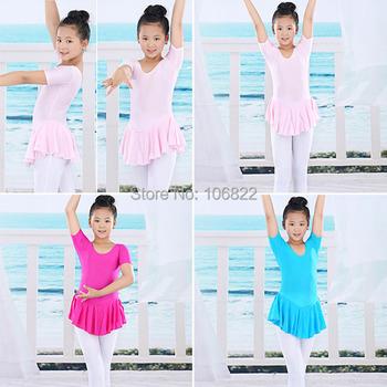 Малыш 2-14Y балетная пачка купальник мягкие платья малыша девушка гимнастика танцы платье
