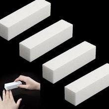 1 Pc! Sanding Nail File Buffer Block for UV Gel Nail Polish Nail Art Tools Manicure Pedicure White Form Nail Buffers File(China (Mainland))