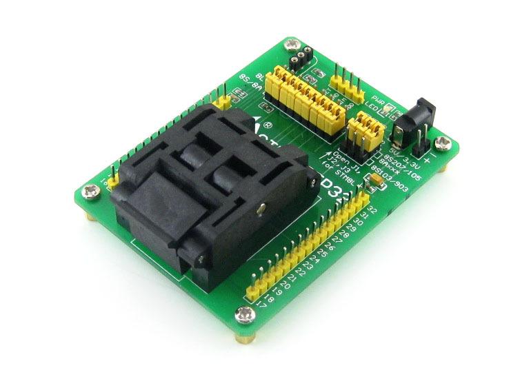 STM8-QFP32 QFP32 TQFP32 FQFP32 PQFP32 STM8 Yamaichi IC Test Socket Programming Adapter 0.8mm Pitch<br><br>Aliexpress