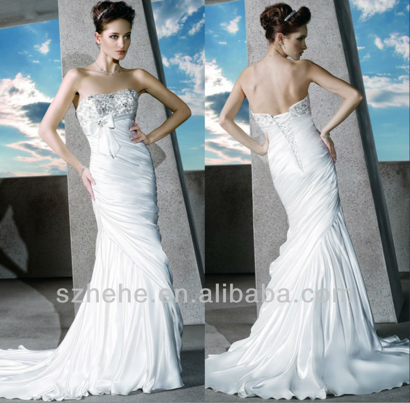 Buy free shipping cw1157 2014 stylish for Wedding dress beading patterns