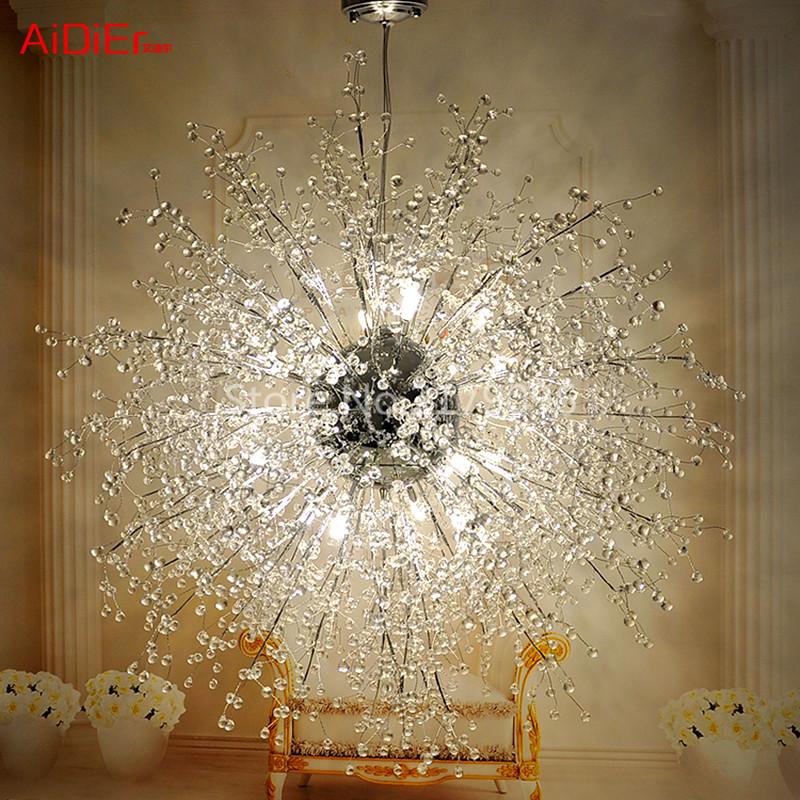 Acquista all'ingrosso Online Stella di cristallo lampadario da ...