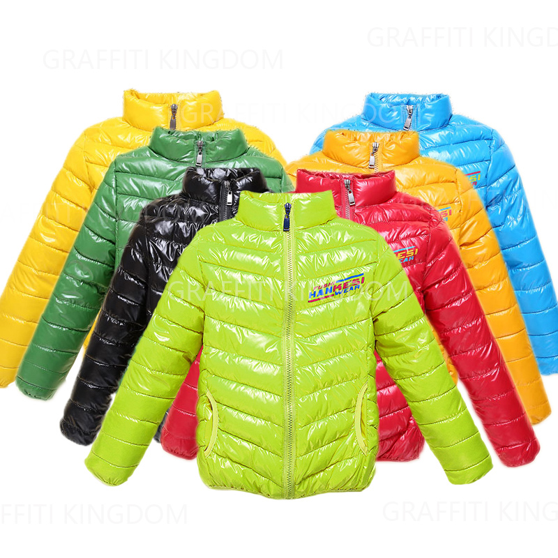 Children ultra light waterproof down jacket Baby Girls and boys outerwear fashion coat, Kids clothing winter infant warm coat(China (Mainland))