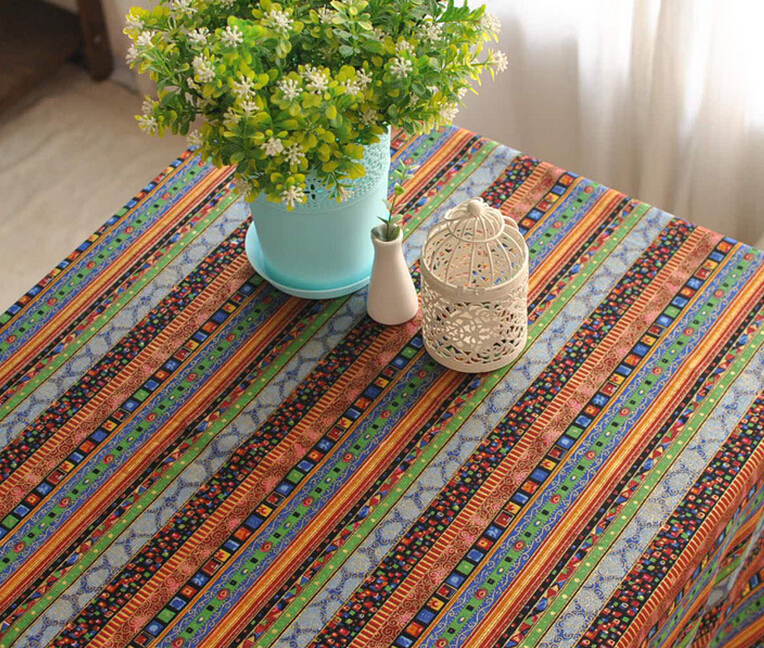 shipping rustic linen zakka tablecloth for dining room table cloth