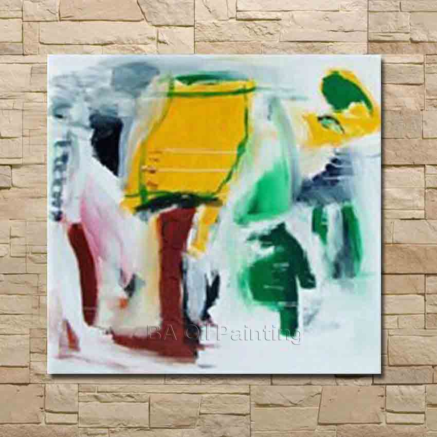 Big Size Hand Made Painting Canvas Modern Oil Painting Abstract Modern Canvas Wall Art Living Room Decor Picture Framed