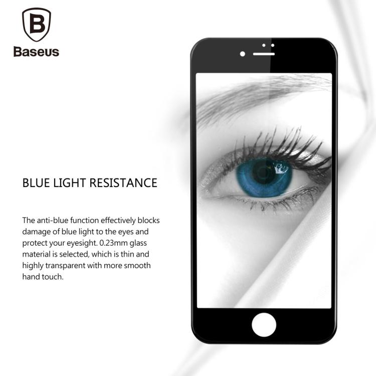 - HTB17FPNNXXXXXXnXVXXq6xXFXXXv - Baseus 0.23MM Tempered Glass Film For iPhone 7 7 Plus 9H Hardness PET Soft 3D Curved Full Cover Anti-Blue Light Screen Protector